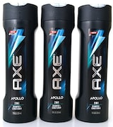 Axe Apollo 2 In 1 Shampoo And Conditioner (355ML, Pack of 3)