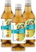 HealthKart Apple Cider Vinegar (500ML, Pack of 3)