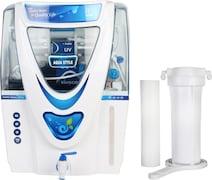 Kinsco Aqua Style 15L RO+UV+UF+TDS Water Purifier (White)