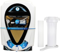 Kinsco Aqua Zoom 13L RO+UV+UF+TDS Water Purifier (Black & White)
