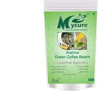 MyCure Arabica Green Beans Coffee (Green, 200GM)