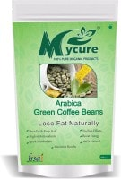 MyCure Arabica Green Beans Coffee (Green, 100GM)