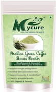 MyCure Arabica Green Beans Powder Coffee (Green, 100GM, Pack of 2)