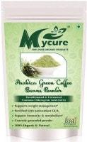 MyCure Arabica Green Beans Powder Coffee (Green, 400GM)
