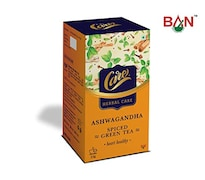 CARE Ashwagandha Spiced Green Tea (500GM, 50 Pieces)