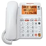 At&T CL4940 Cordless Landline Phone (White)