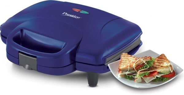 Prestige Atlas Plus Grill Sandwich Maker (Blue)