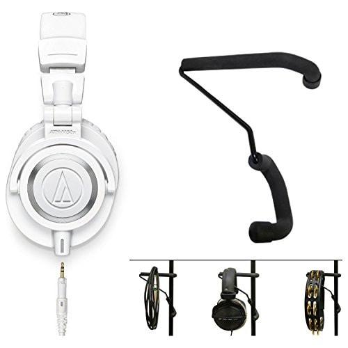 Audio Technica ATH-M50X Wired Headphone (White)
