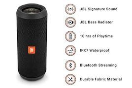 JBL Flip 3 Stealth Wireless Bluetooth Speaker