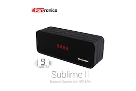 Portronics Sublime II POR 137 Wire and Wireless Bluetooth Speaker