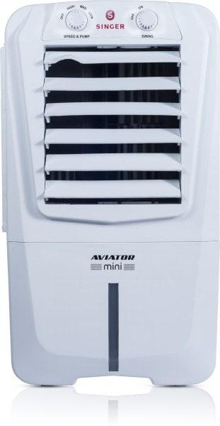Singer Aviator Mini Air Cooler (White, 10 L)