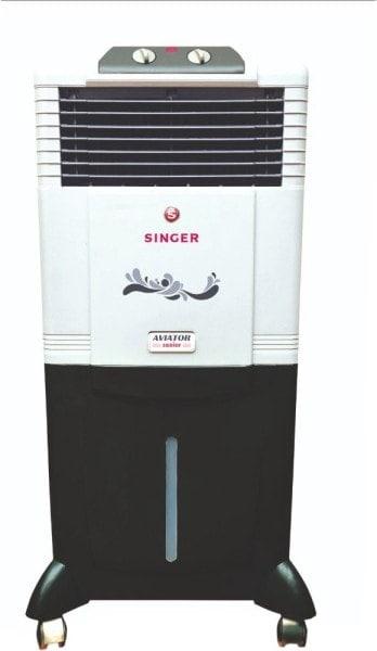 Singer Aviator Senior Air Cooler (Black & White, 50 L)