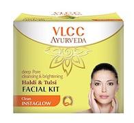 VLCC Ayurveda Deep Pore Cleansing & Brightening Haldi & Tulsi Face Wash (100ML, Pack of 2)