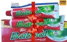Dabur Babool Toothpaste (180GM, Pack of 2)