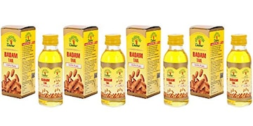 Dabur Badam Tail (25ML, Pack of 4)