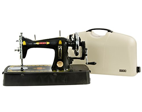 Usha Bandhan Manual Sewing Machine (Black)