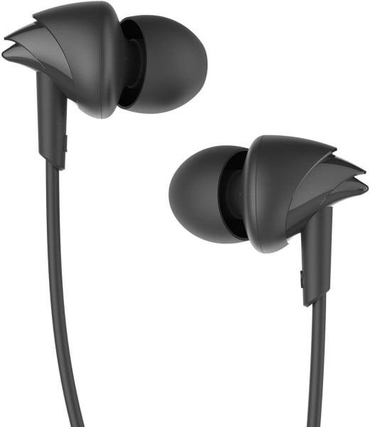 boAt BassHeads 100 Wired Headphone (Black)