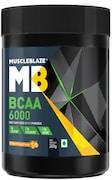 MuscleBlaze BCAA 6000 (Tangy Orange, 200GM)