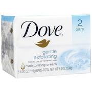 Dove Beauty Bar Gentle Exfoliating (2 PCS)