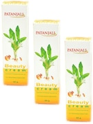 Patanjali Beauty Cream (50GM, Pack of 3)