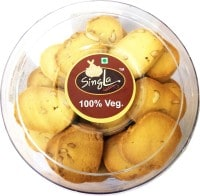 Singla Best Quality Butter Kaju Cookies Biscuits (400GM)