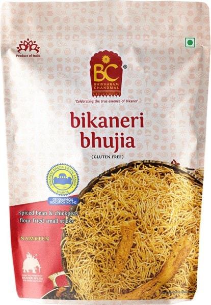 BHIKARAM CHANDMAL Bikaneri Bhujia Namkeen (200GM)