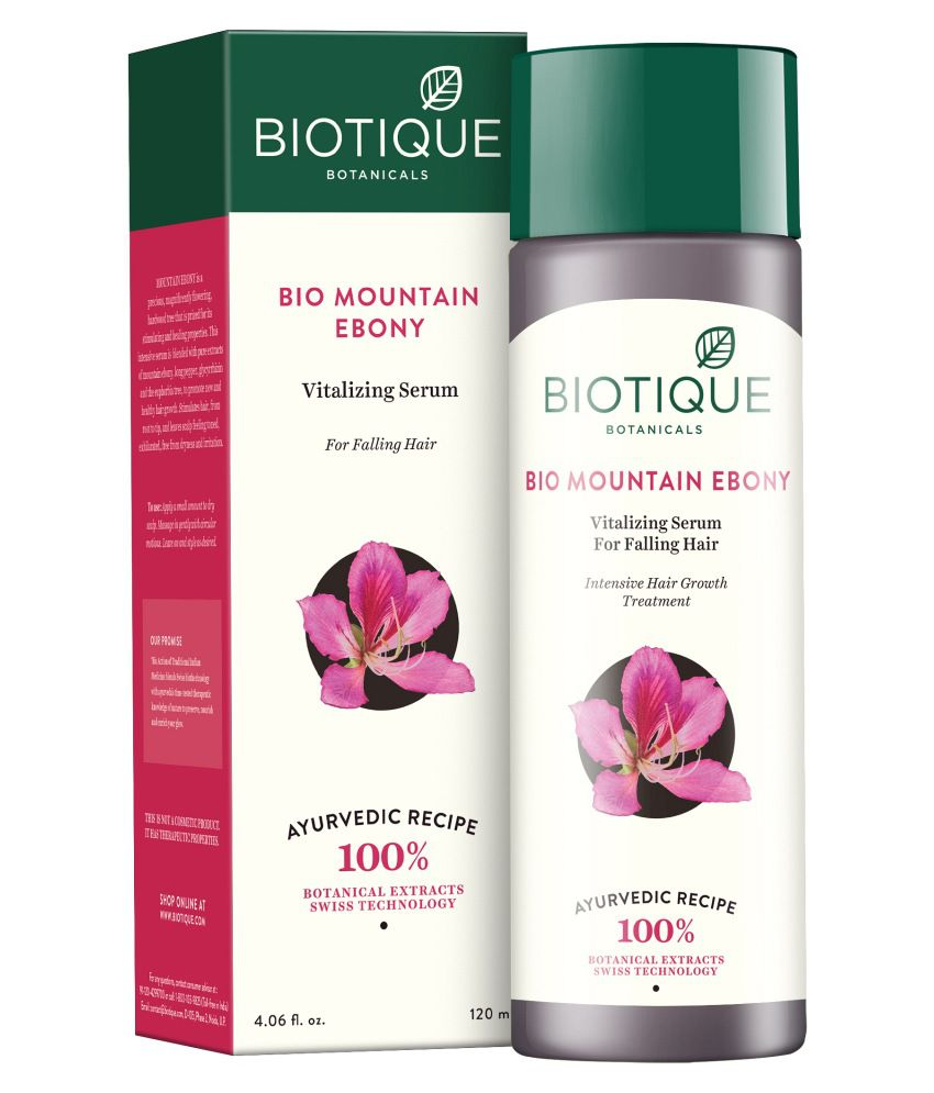 Biotique Bio Mountain Ebony Serum (120ML)