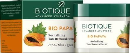 Biotique Bio Papaya Revitalizing Tan Removal Scrub (75GM)