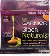Garnier Black Naturals Oil-Enriched Cream Hair Color (Black)