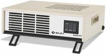 Bajaj Blow Hot Fan Room Heater (White)