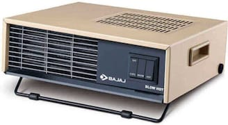 Bajaj Blow Hot Fan Room Heater (Cream)