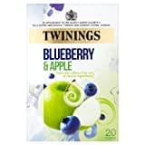 Twinings Blueberry and Apple Fruit Tea (40GM, 20 Pieces)