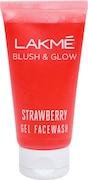 Lakme Blush and glow Lemon Facewash Face Wash (Strawberry, 50GM)