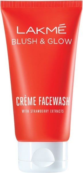 Lakme Blush Lakme Blush Glow Gel Face Wash (Strawberry, 100GM)
