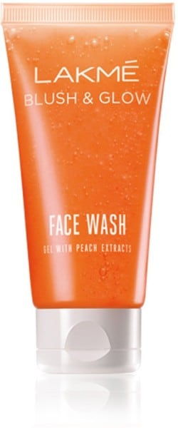 Lakme Blush Lakme Blush Glow Gel Face Wash (Peach, 100GM)