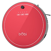 Bobsweep Bobi Robotic Vacuum Cleaner (Red)