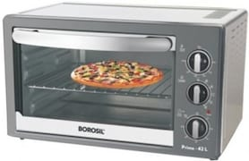 Borosil BOTG30CRS13 30 L Oven Toaster Grill (Silver)