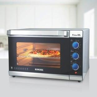 Borosil BOTG48CRS15 48 L Oven Toaster Grill (Black)