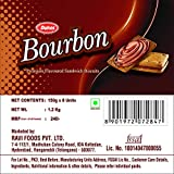 Dukes Bourbon Cream Biscuits (Chocolate, 150GM, Pack of 8)