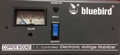 Bluebird BR115C Voltage Stabilizer (Grey)
