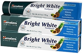 Himalaya Bright White Toothpaste (175GM, Pack of 2)