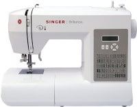 Singer Brilliance 6180 Computerised Sewing Machine (White)