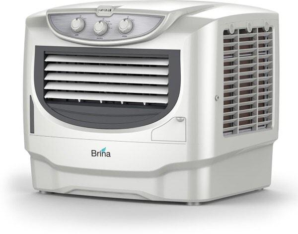 Havells Brina Air Cooler (Grey & White, 50 L)
