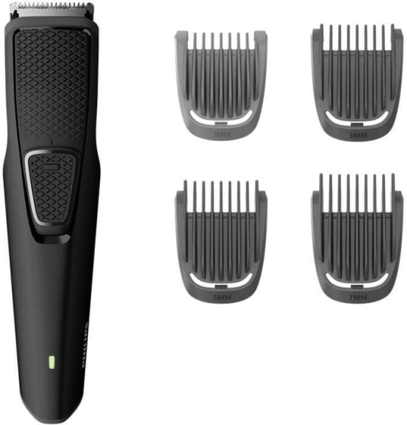 Philips BT1215 Beard & Moustache Trimmer (Black)