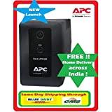 APC BX600CI-IN UPS (Black)