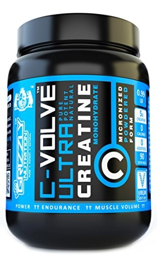 Grizzly Nutrition C-Volve Ultra Creatine Monohydrate (90 Servings)