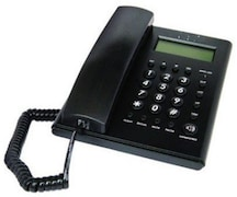 Beetel C51 Corded Landline Phone (Black)