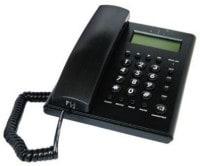 Beetel C51 Corded Landline Phone (Black)