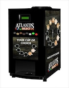 ATLANTIS Cafe Plus 7 Option Hot Beverage Coffee Machine (Black)
