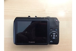 Canon EOS M 18MP DSLR Camera